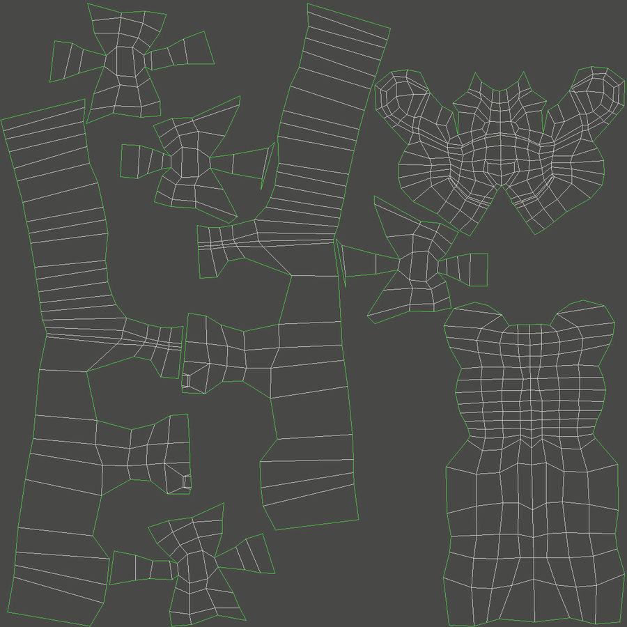 グミベア royalty-free 3d model - Preview no. 16