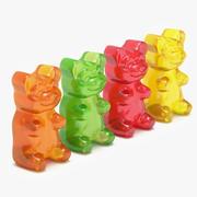 Gummy Bears 3d model