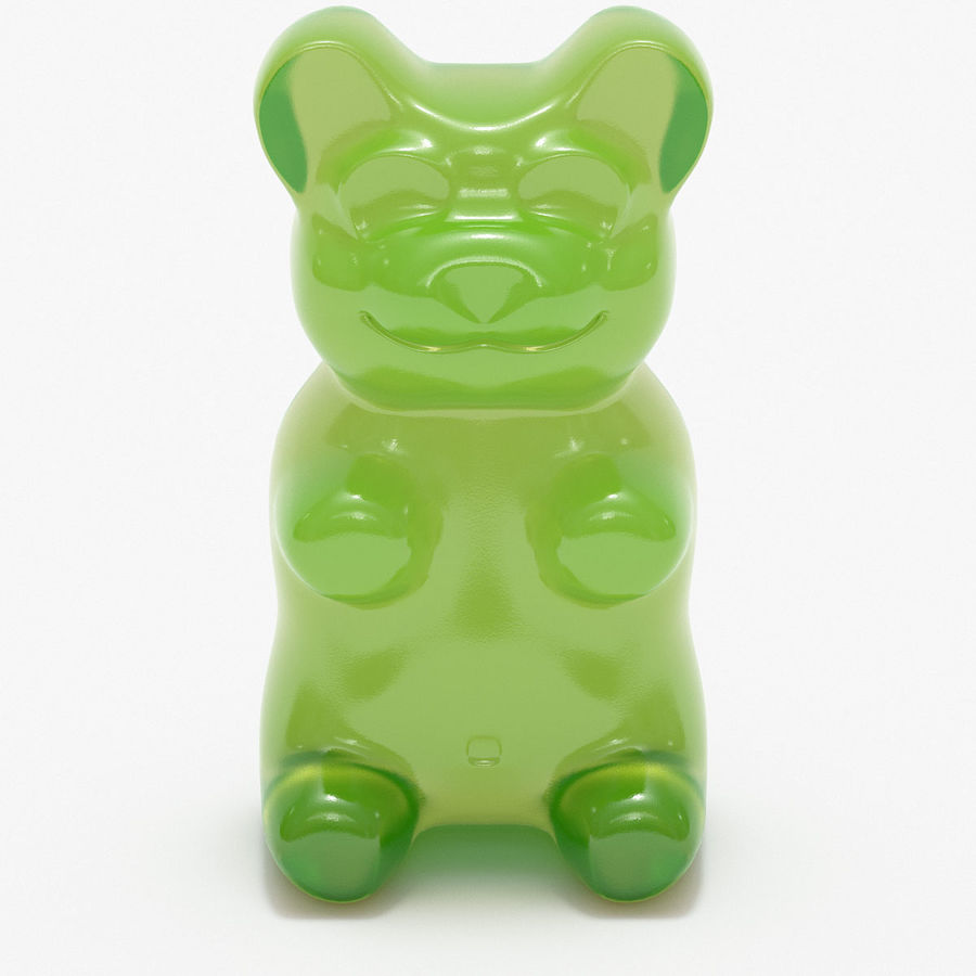 Gummy Bears royalty-free 3d model - Preview no. 13