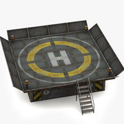 Helipad 3d model
