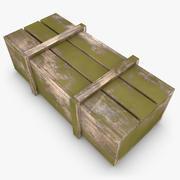 Wooden Box 02 (Color 3) 3d model