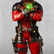 Deadpool, Marvel. 3d model