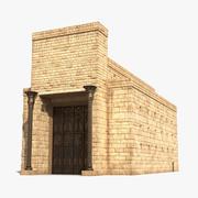 Templo de Salomão 2 3d model
