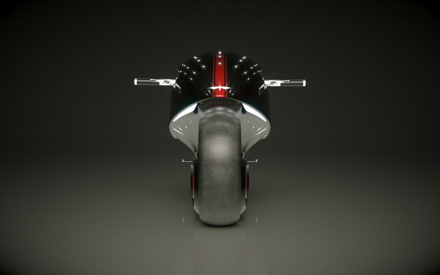 \\ T // Orca E-Bike royalty-free 3d model - Preview no. 4