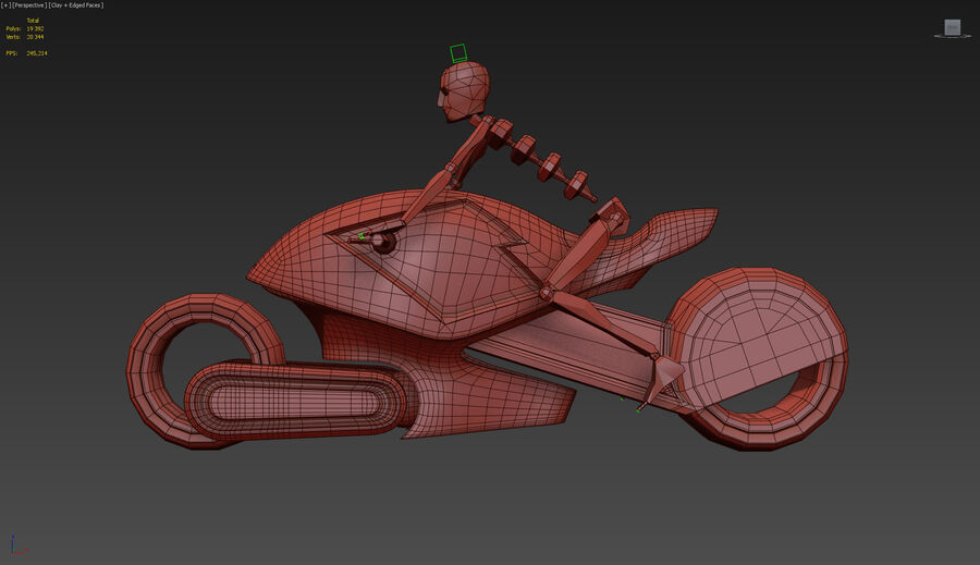 \\ T // Orca E-Bike royalty-free 3d model - Preview no. 12