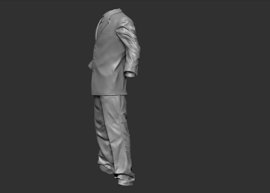 Man kostym royalty-free 3d model - Preview no. 4