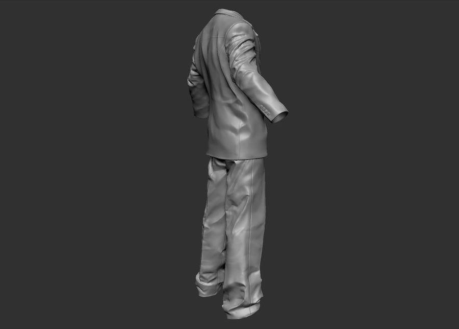 Man kostym royalty-free 3d model - Preview no. 8