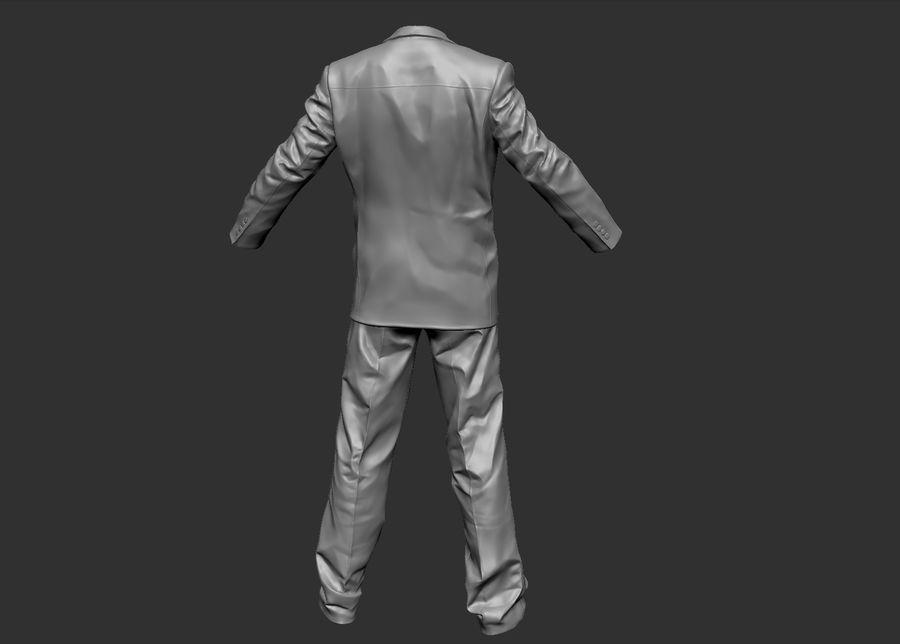 Man kostym royalty-free 3d model - Preview no. 1