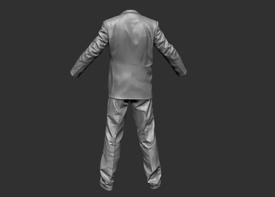 Man kostym royalty-free 3d model - Preview no. 2