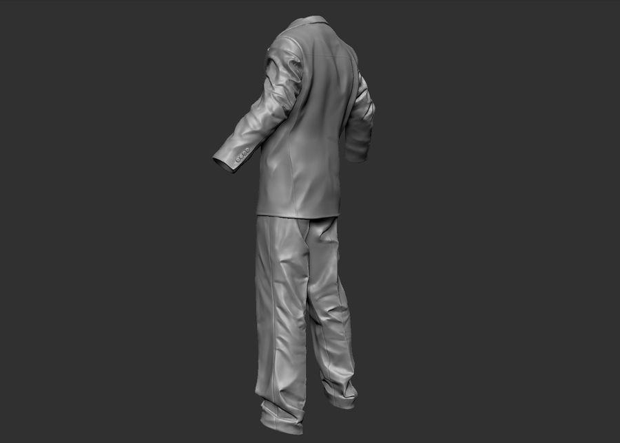 Man kostym royalty-free 3d model - Preview no. 3