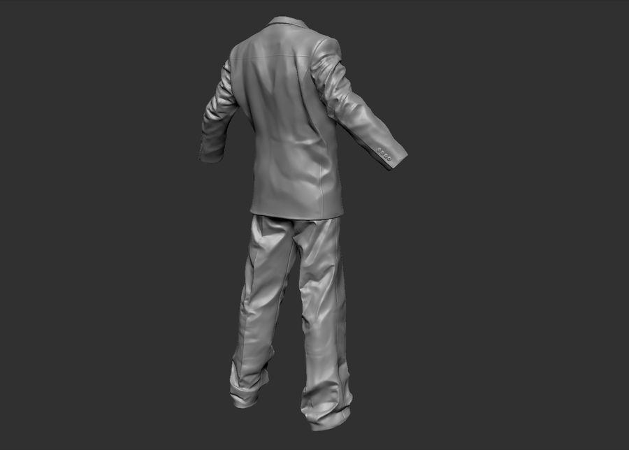 Man kostym royalty-free 3d model - Preview no. 9