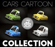 Cars Cartoon Collection 3d model