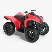 Four Wheeler 3d model