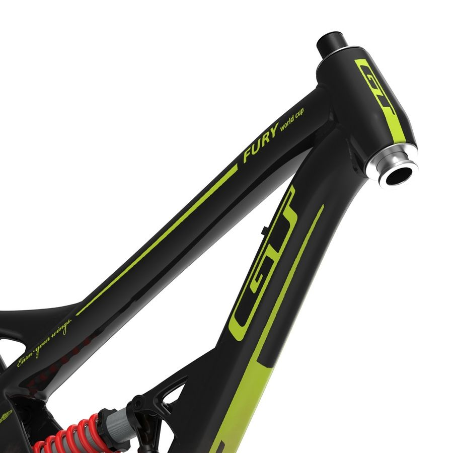 Mountain Bike Frame royalty-free 3d model - Preview no. 15