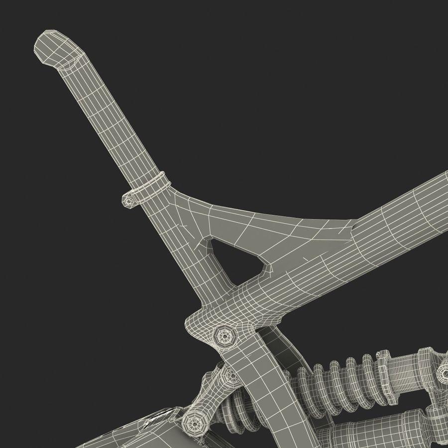 Mountain Bike Frame royalty-free 3d model - Preview no. 49