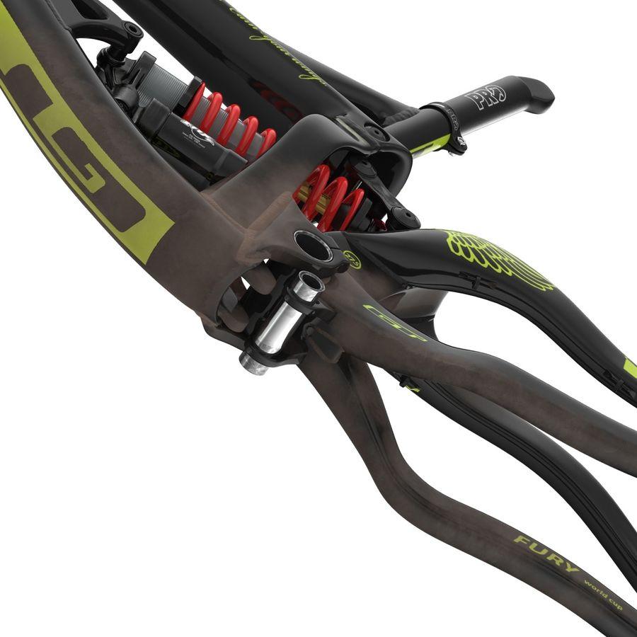Mountain Bike Frame royalty-free 3d model - Preview no. 20