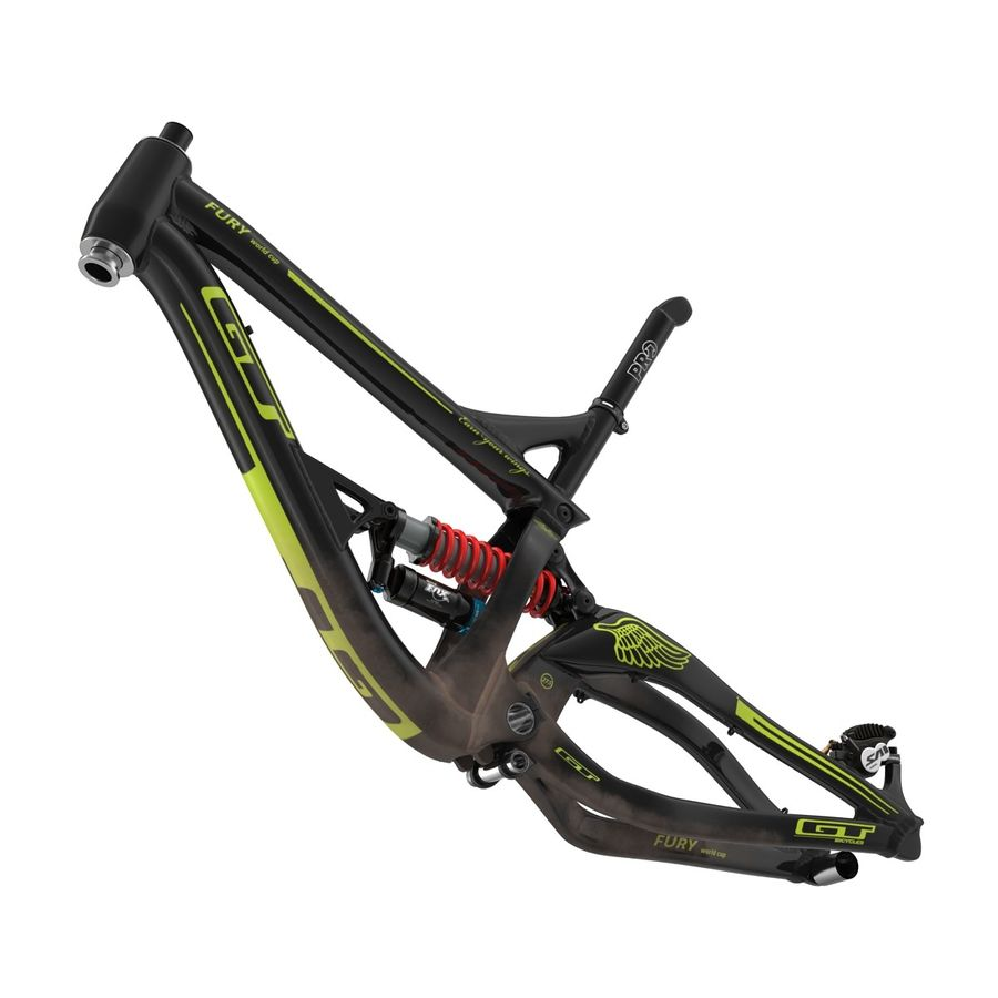 Mountain Bike Frame royalty-free 3d model - Preview no. 8