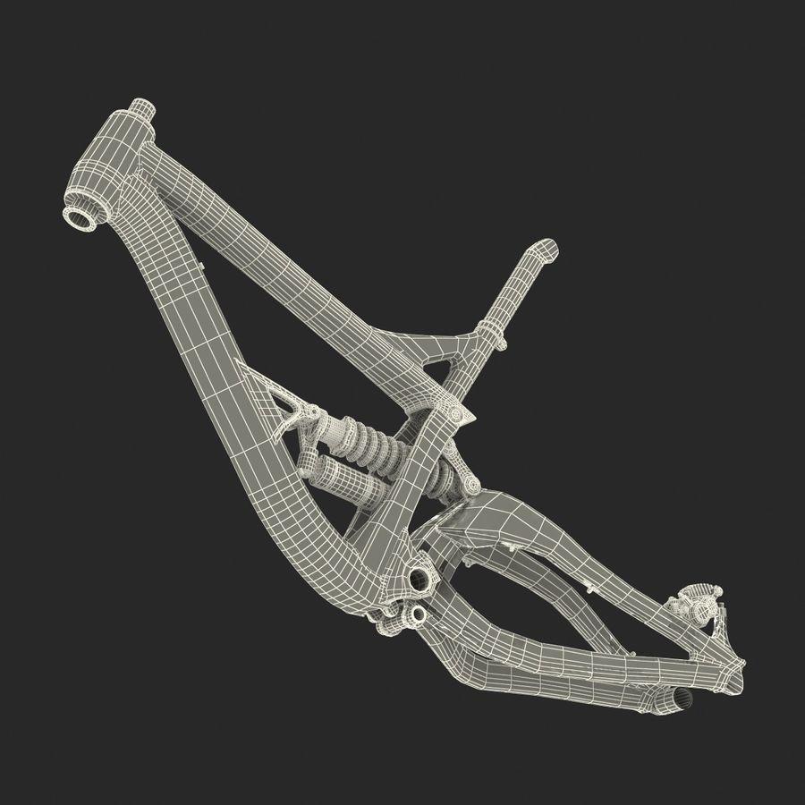Mountain Bike Frame royalty-free 3d model - Preview no. 37