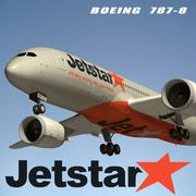 Boeing 787 Jetstar 3d model