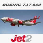 737 JET2 3d model