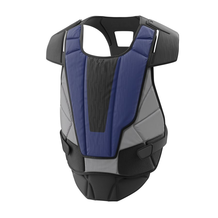 Hockey Goalie Chest Protector Generic royalty-free 3d model - Preview no. 2