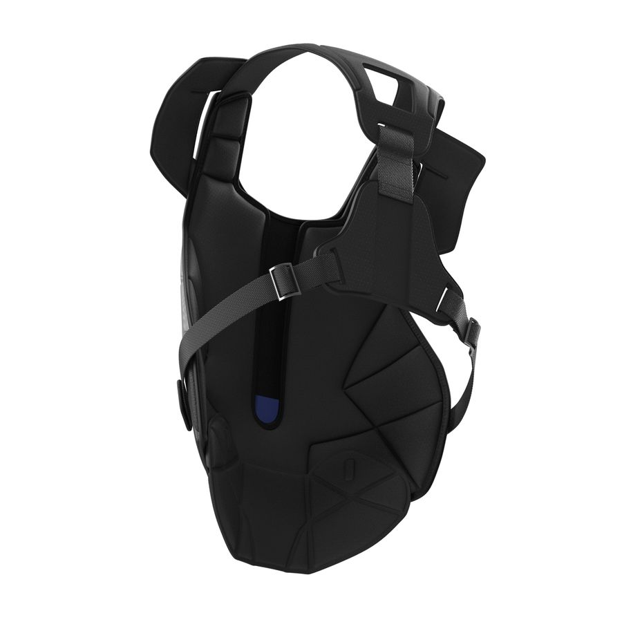 Hockey Goalie Chest Protector Generic royalty-free 3d model - Preview no. 10