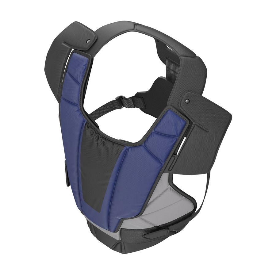 Hockey Goalie Chest Protector Generic royalty-free 3d model - Preview no. 7
