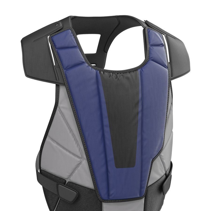 Hockey Goalie Chest Protector Generic royalty-free 3d model - Preview no. 11