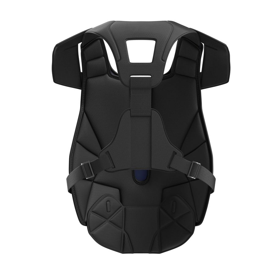 Hockey Goalie Chest Protector Generic royalty-free 3d model - Preview no. 8
