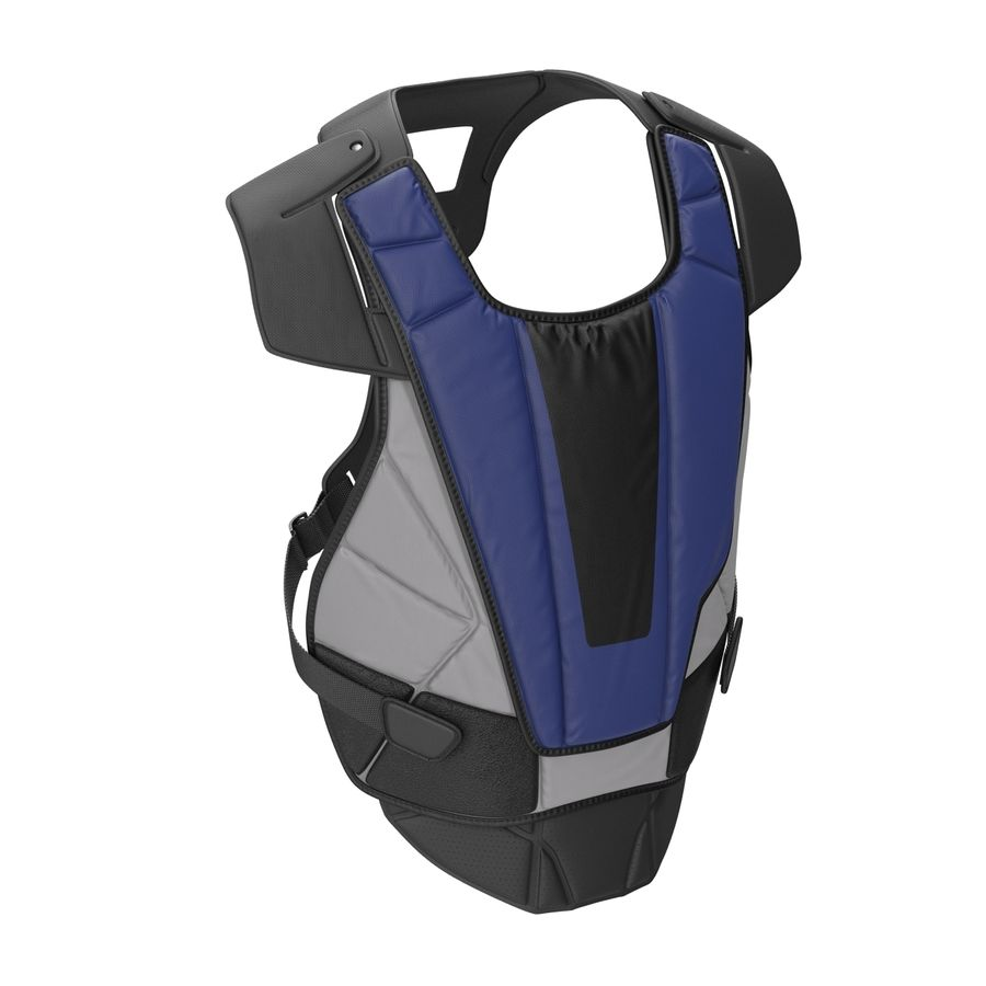 Hockey Goalie Chest Protector Generic royalty-free 3d model - Preview no. 4