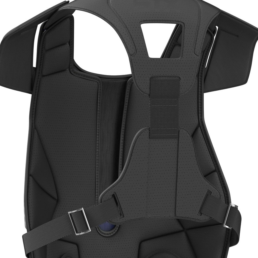 Hockey Goalie Chest Protector Generic royalty-free 3d model - Preview no. 16