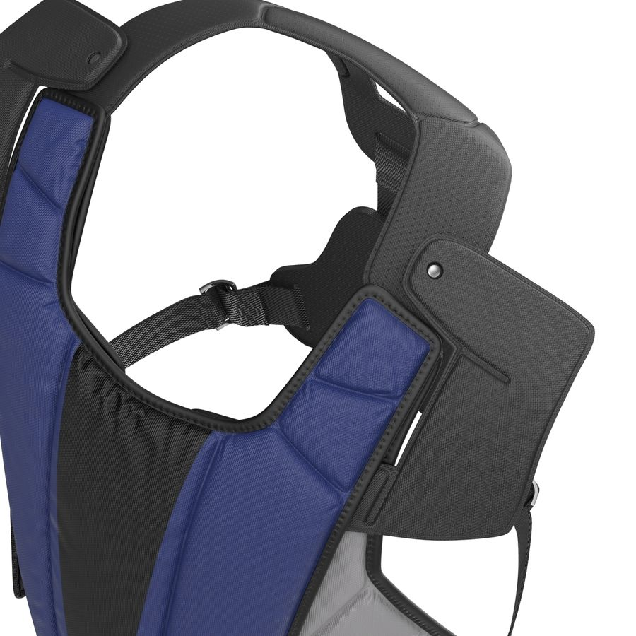 Hockey Goalie Chest Protector Generic royalty-free 3d model - Preview no. 14