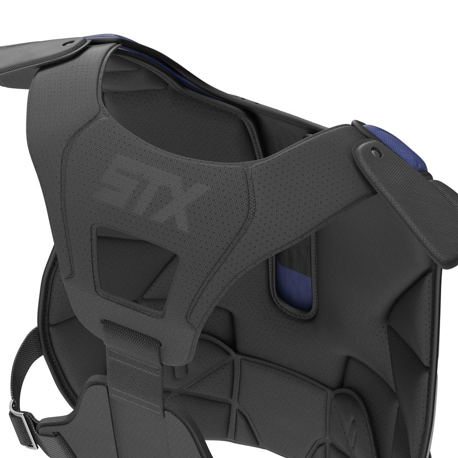 Hockey Goalie Chest Protector Generic royalty-free 3d model - Preview no. 15