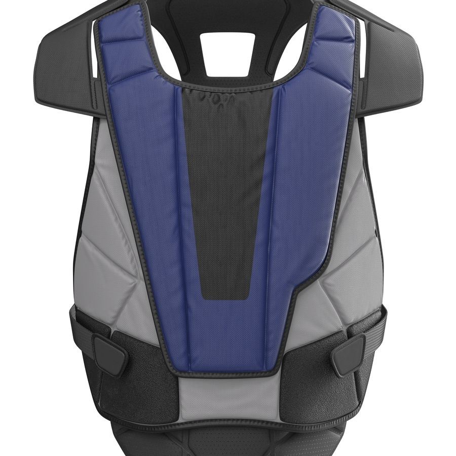Hockey Goalie Chest Protector Generic royalty-free 3d model - Preview no. 12