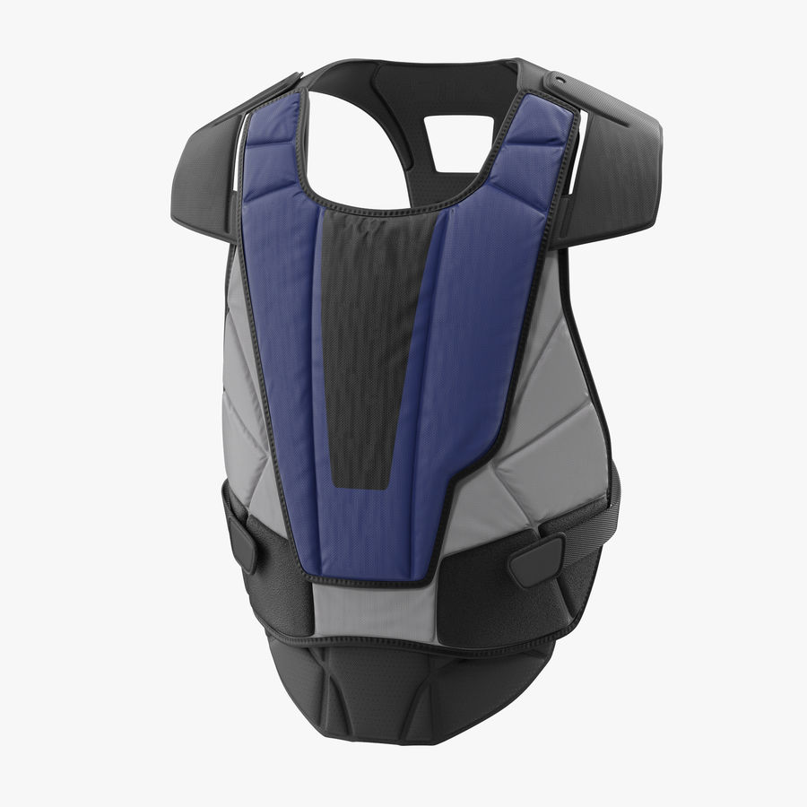 Hockey Goalie Chest Protector Generic royalty-free 3d model - Preview no. 1