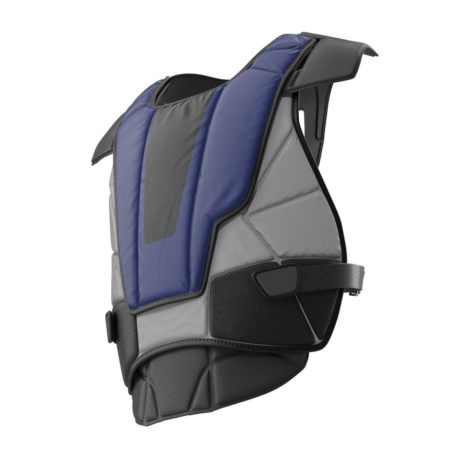Hockey Goalie Chest Protector Generic royalty-free 3d model - Preview no. 5