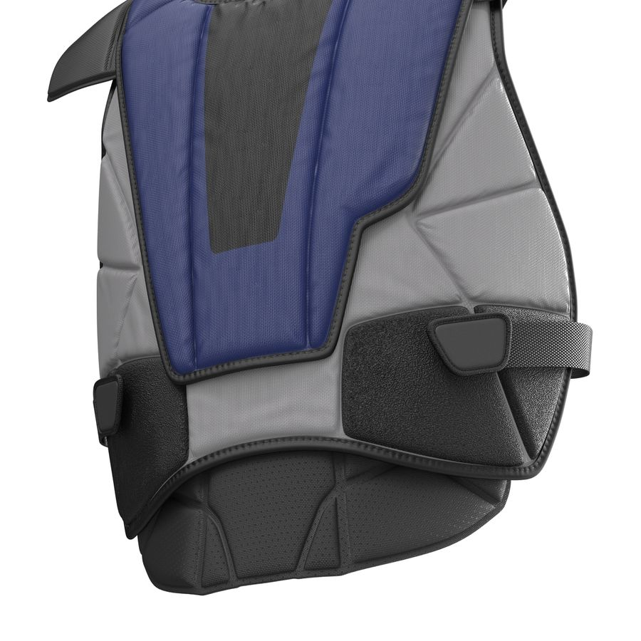 Hockey Goalie Chest Protector Generic royalty-free 3d model - Preview no. 13