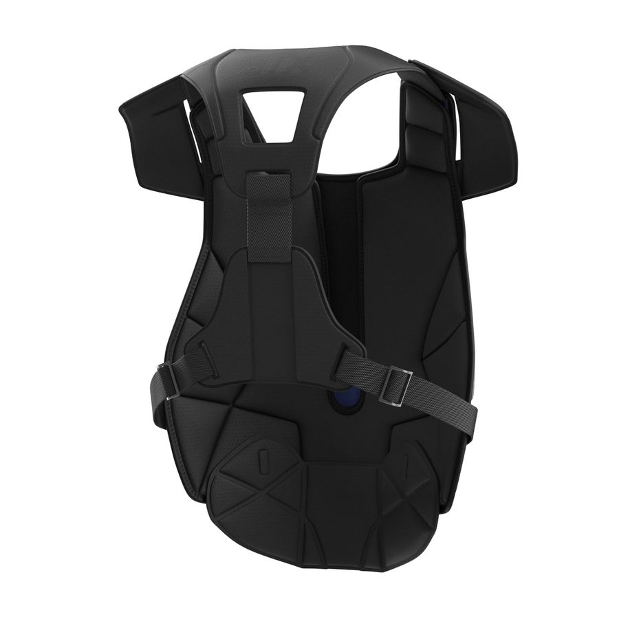 Hockey Goalie Chest Protector Generic royalty-free 3d model - Preview no. 9
