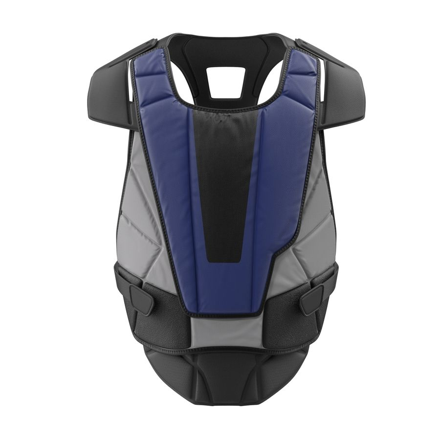 Hockey Goalie Chest Protector Generic royalty-free 3d model - Preview no. 3