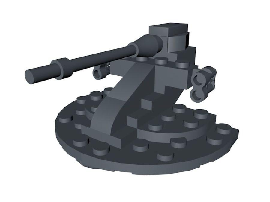 乐高星球大战AAT royalty-free 3d model - Preview no. 1