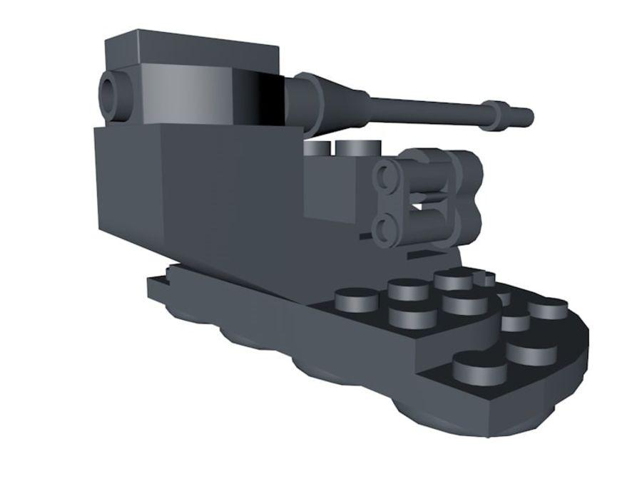 乐高星球大战AAT royalty-free 3d model - Preview no. 4