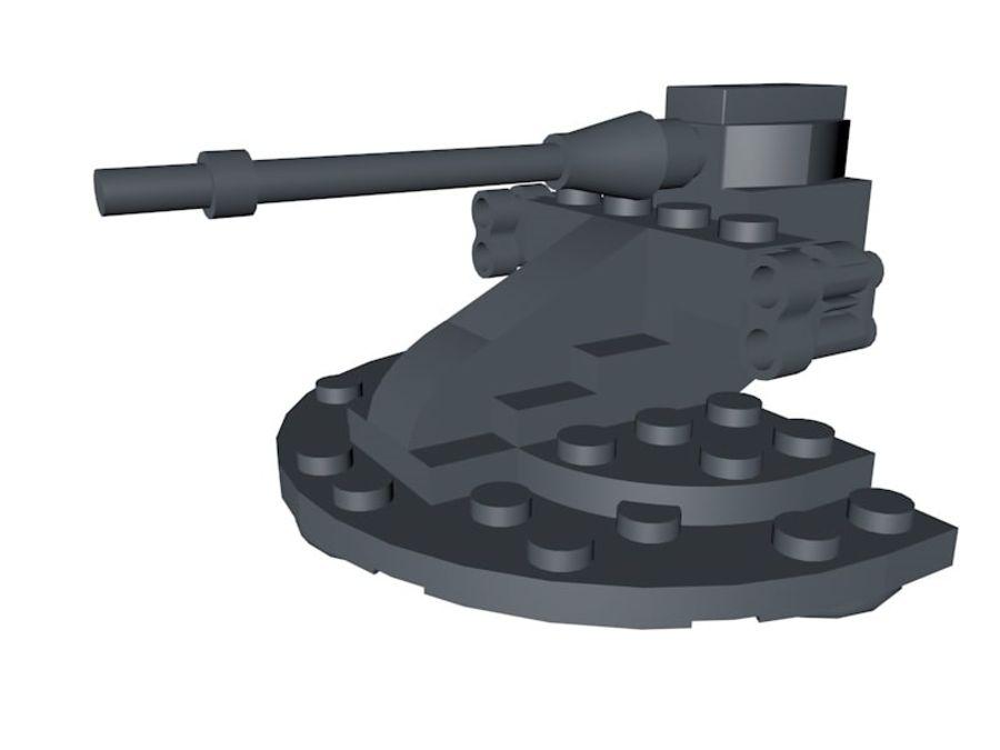乐高星球大战AAT royalty-free 3d model - Preview no. 2