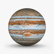 Planeta júpiter modelo 3d