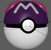 Master Ball 3d model