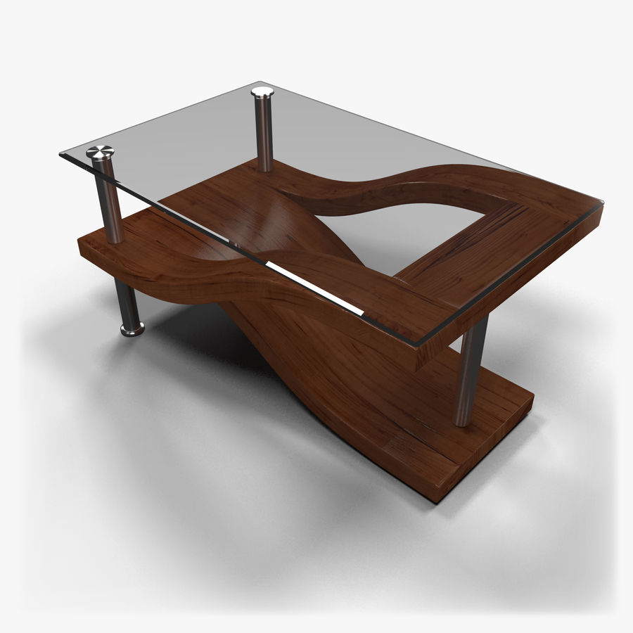 Tavolino moderno 3 royalty-free 3d model - Preview no. 1