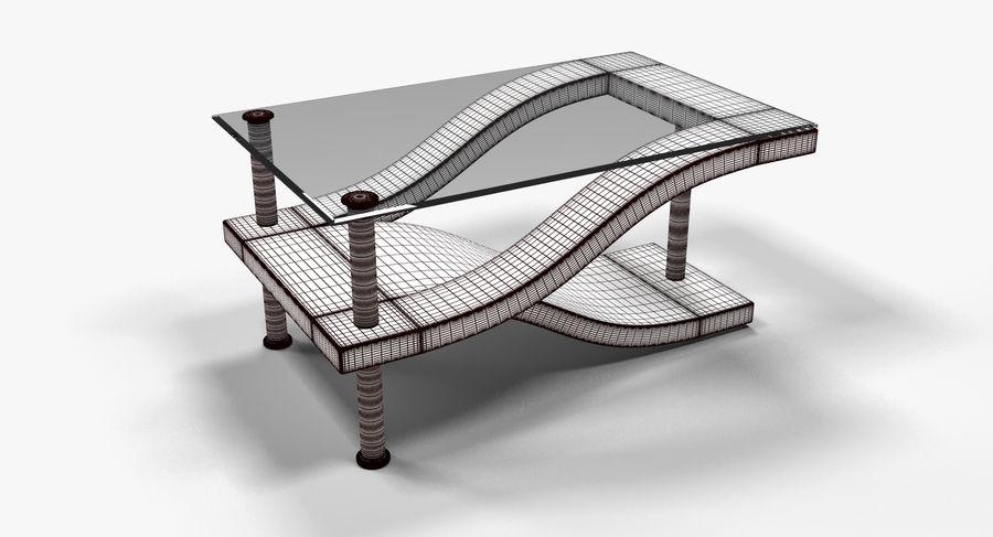 Tavolino moderno 3 royalty-free 3d model - Preview no. 5