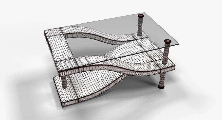 Tavolino moderno 3 royalty-free 3d model - Preview no. 7