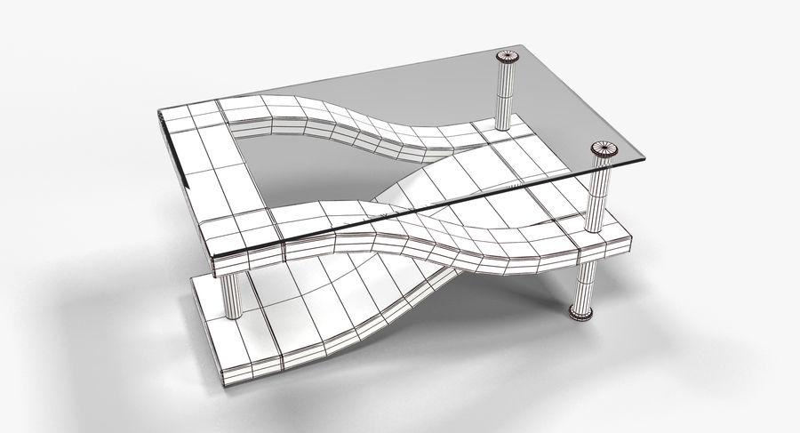 Tavolino moderno 3 royalty-free 3d model - Preview no. 6