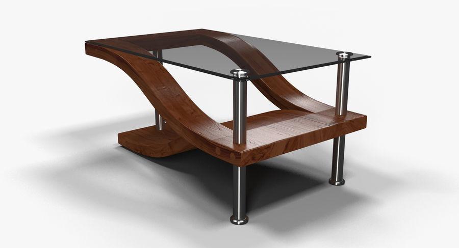 Tavolino moderno 3 royalty-free 3d model - Preview no. 3
