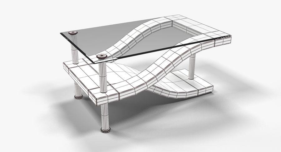 Tavolino moderno 3 royalty-free 3d model - Preview no. 4